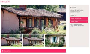 Mimizan - La maison de l'abris cotier