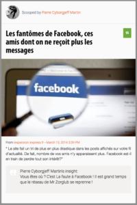 Les Fantômes de Facebook
