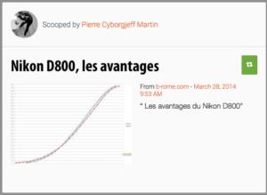 Les avantages du D800