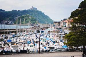 San Sebastian, balade sur le port