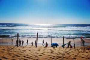Impressionnante les vagues de Biscarosse