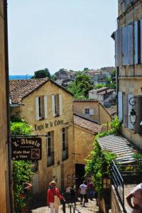 Etape du retour à Saint Emilion