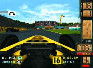 F1 World Grand Prix 2 - N64 (Video System - Paradigm Ent, 1999)