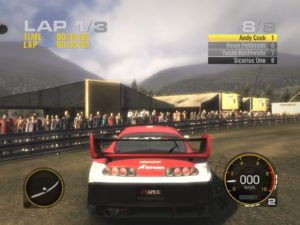 Racedriver Grid - PS3 (Codemasters, 2008)