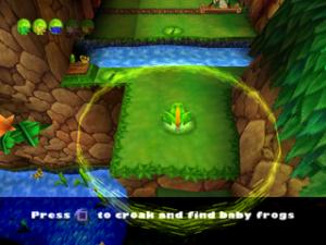 Frogger 2 : Swampy's revenge - PS1 (Hasbro - Blitz Games, 2000)