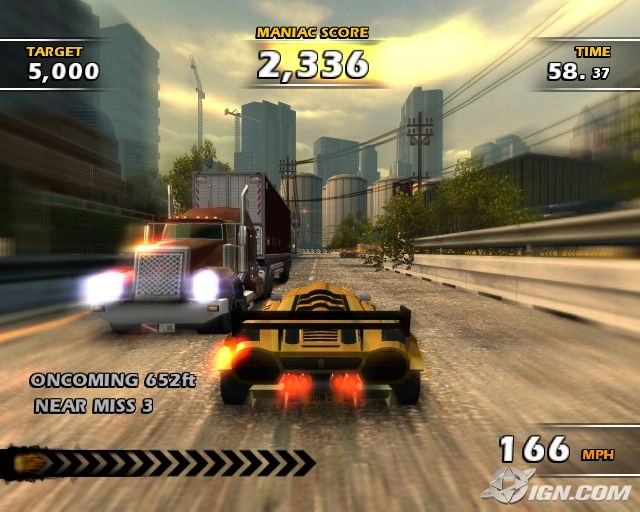 Burnout Dominator - PS2 (Electronic Arts, 2007)