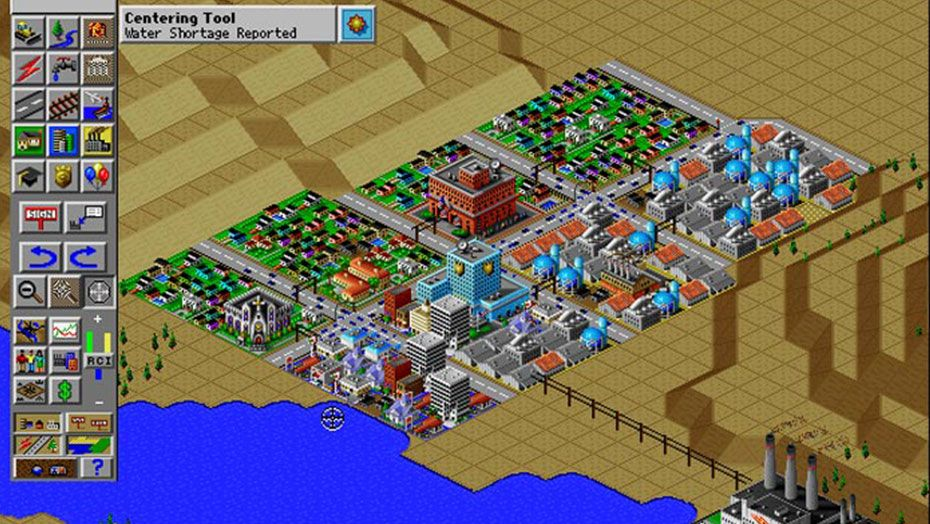 Simcity 2000 - PC/MAC (Maxis - Electronic Arts, 1994)