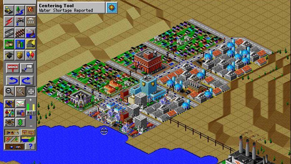 Simcity 2000 - PC/MAC (Maxis - Electronic Arts, 1994)