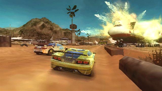 Split Second Velocity - PSP (Black Rock - Disney, 2010)