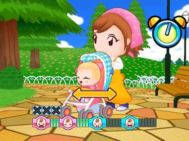 Babysitting Mama - Wii (Majesco, Cooking Mama Limited, 2010)