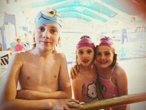 Premier cours de piscine