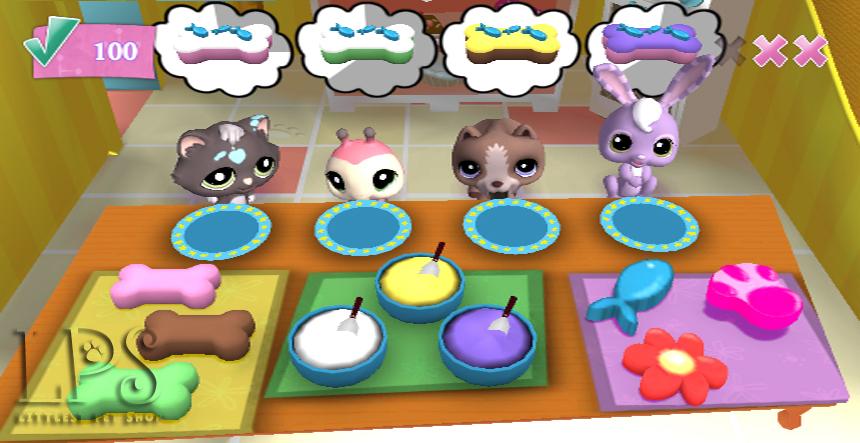 Little Pet Shop - Wii (Electronic Arts, 2008)