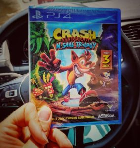 Crash is back !