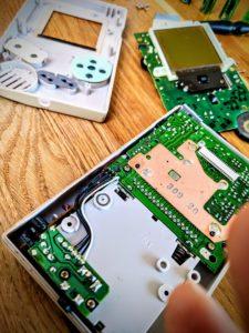 Les entrailles du Game Boy