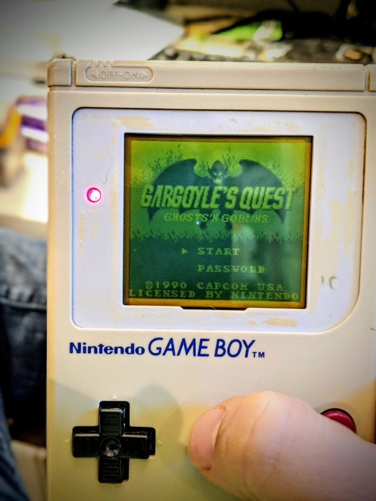 Game Boy réparé