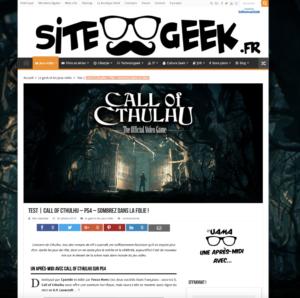 Call of Cthulhu – Sombrez dans la folie !