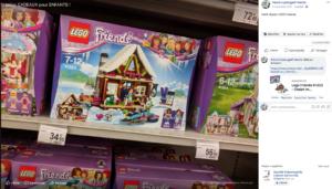 Des maisons à construire en LEGO
