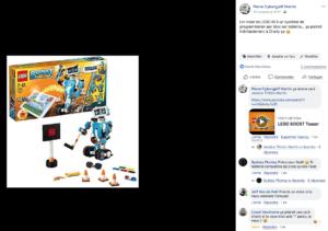 Un super robot en LEGO programmable depuis sa tablette !