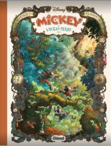 Magnifique album de Mickey par l'équipe de Gargouilles