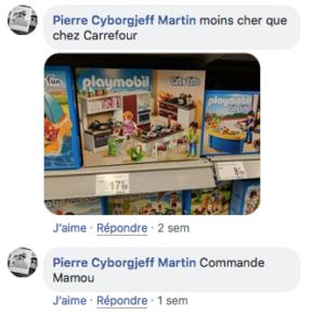 Carrefour, cette année, c'est juste 2+1 Gratuit une seule journée :(