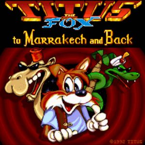 Titus the Fox - Amiga/PC (Titus, 1992)Image 5 sur 13 Titus the Fox - Amiga/PC (Titus, 1992)