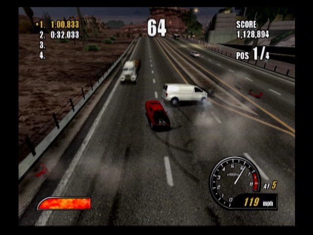 Burnout 2 : Point of Impact - PS2 (Acclaim - Criterion, 2002)
