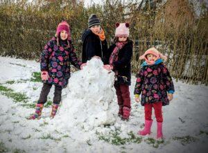 A la poursuite de Noël - Un bonhomme de neige ?
