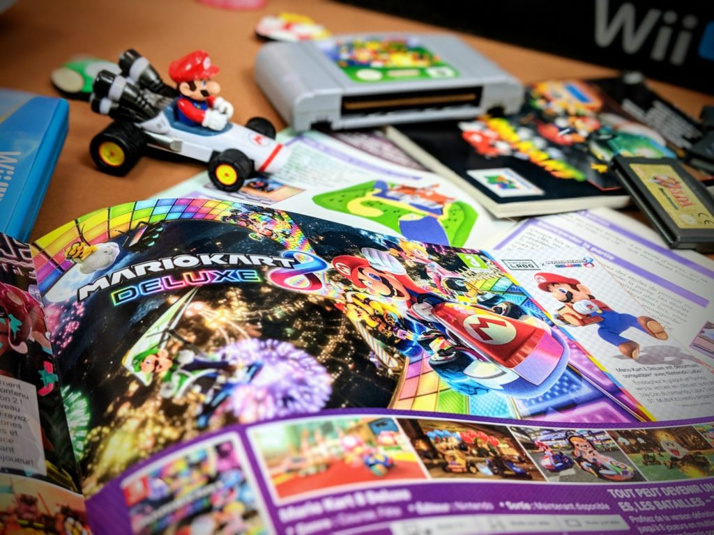 Il manque quelque chose - expo photo - Nintendo WiiU - Switch - Mario Kart 8