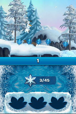 Disney Frozen : Olaf's quest - 3DS (Gamemill Ent - 1st Playable Prod, 2013)