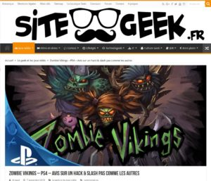 Zombie Vikings – PS4 – Avis sur un hack & slash pas comme les autres