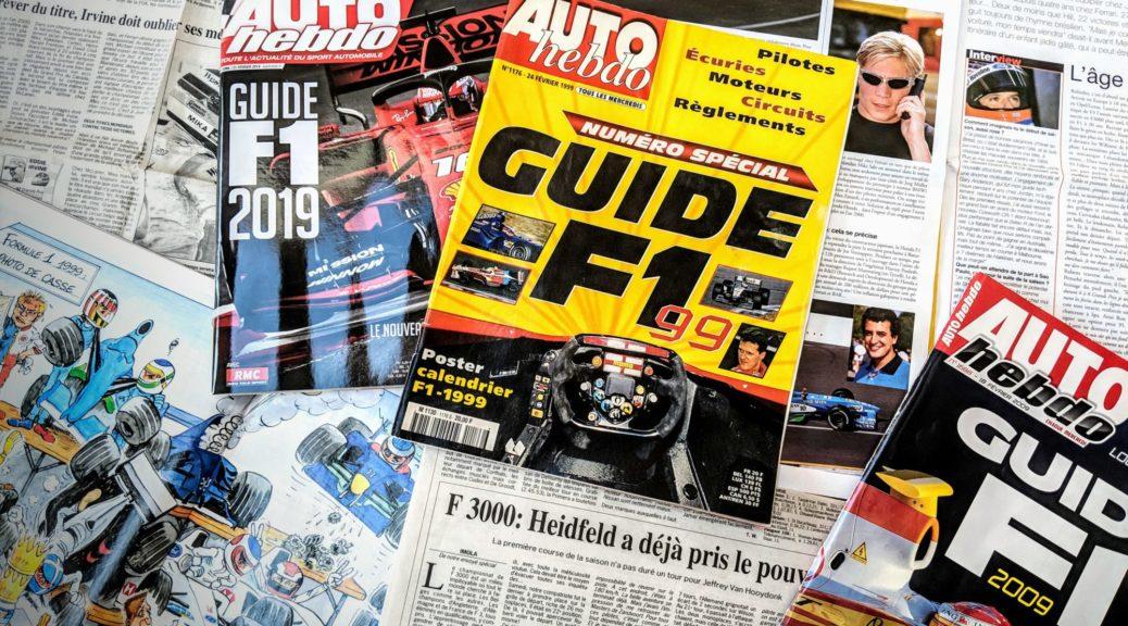 Presse - Formule 1 - 1999 - 2019 - AutoHebdo