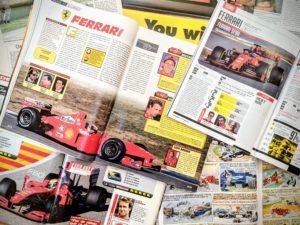Presse - Formule 1 - 1999 - 2019 - AutoHebdo - Ferrari