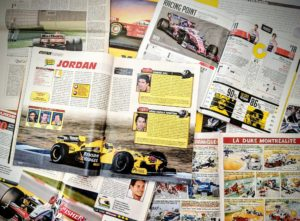 Presse - Formule 1 - 1999 - 2019 - AutoHebdo - Jordan - Force India - Racing Point