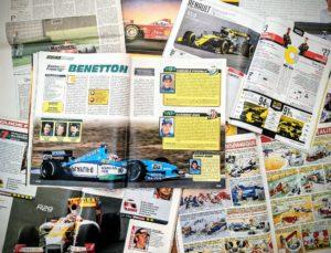 Presse - Formule 1 - 1999 - 2019 - AutoHebdo - Benetton - Renault Sport