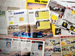 Presse - Formule 1 - 1999 - 2019 - AutoHebdo - Sauber - BMW - AlfaRomeo