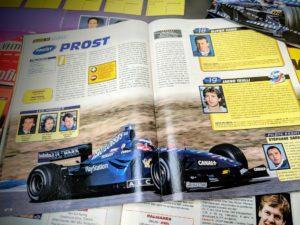 Presse - Formule 1 - 1999 - 2019 - AutoHebdo - Stewart GP - Prost GP