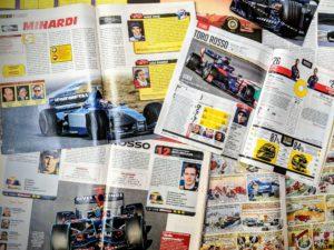 Presse - Formule 1 - 1999 - 2019 - AutoHebdo - Minardi - Toro Rosso