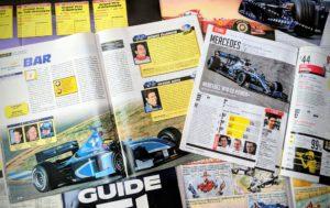 Presse - Formule 1 - 1999 - 2019 - AutoHebdo - B.A.R. - Mercedes GP
