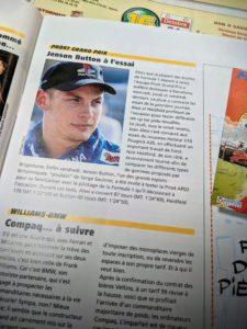 Presse - Formule 1 - 1999 - Jenson Button