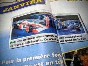 Presse - Formule 1 - 1999 - AutoHebdo -B.A.R.
