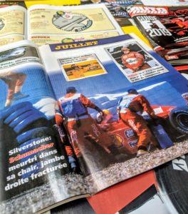 Presse - Formule 1 - 1999 - AutoHebdo - Michael Schumacher - Ferrari