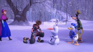 Décus, nous n'avons jamais pas rencontré Anna et Elsa !