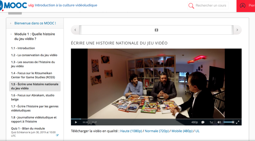 MOOC-Introduction a la culture videoludique