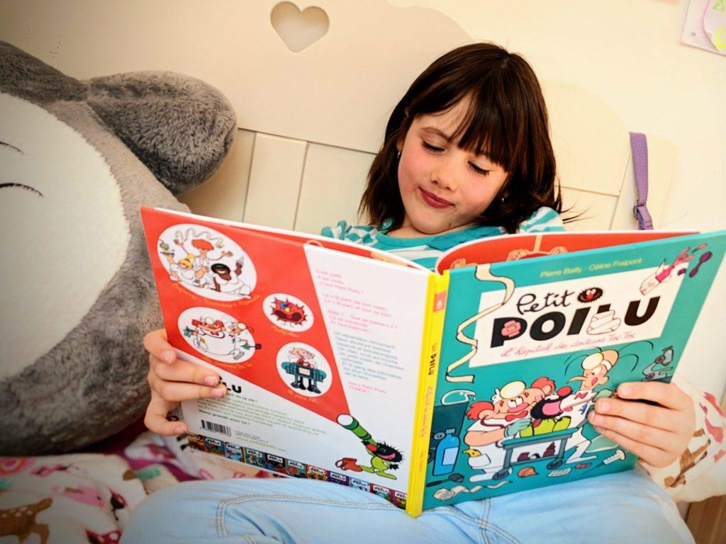 Petit Poilu, la BD préférée d'Alice.