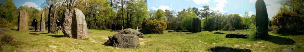 Balade parmi les mégalithes de Monteneuf