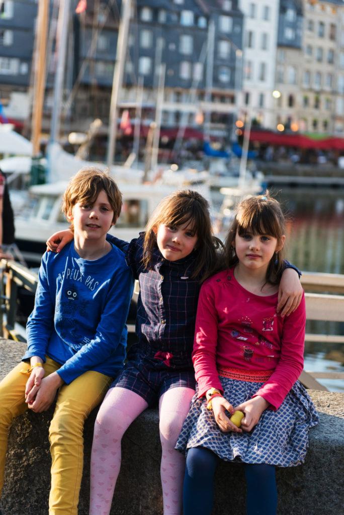 Dernière étape, le port de Honfleur