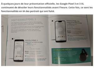 Les Google Pixel 3 et 3 XL mettront le paquet sur les photos de portrait