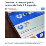 Scoop : Dropbox nous impose de passer à la caisse.