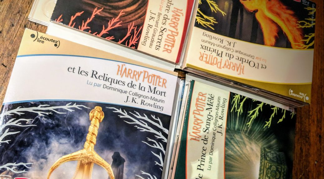 Harry Potter - Audiobook - écoutez lire
