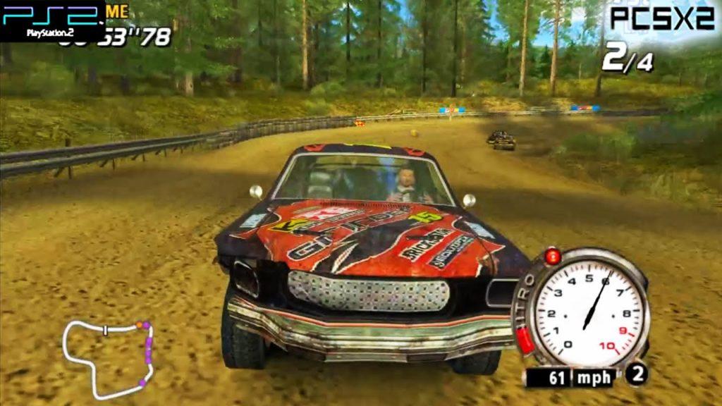 Flatout - PS2 (Vivendi - Bugbear, 2004)
